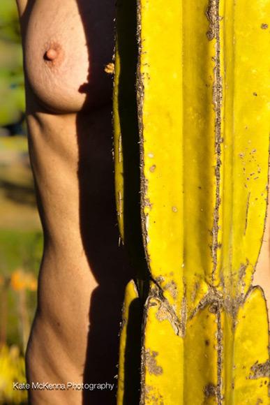 nude on cactus